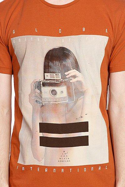 Футболка Globe Polaroid Girl Tee Ginger