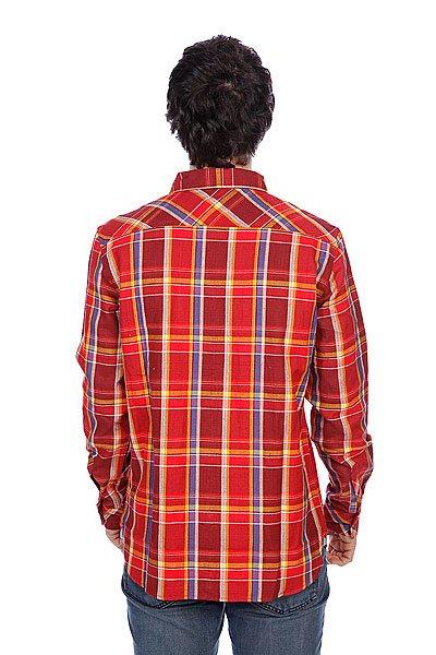 Рубашка в клетку Element Filmore Crimson Red