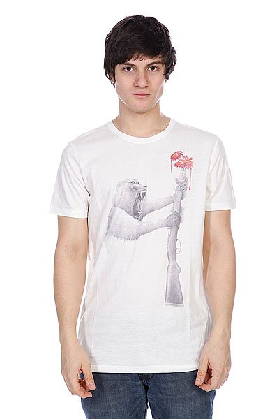Футболка Element Peaceful Warrior-Bab Off White