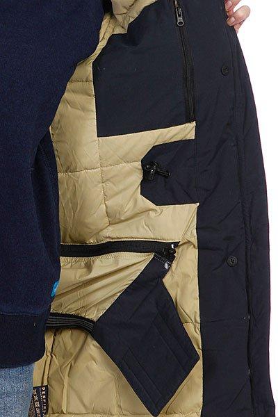 Куртка парка женская Penfield Hoosac W Parka (Faux Fur) Navy