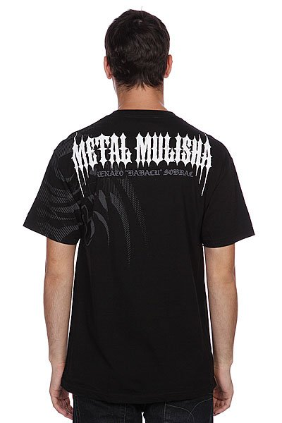 Футболка Metal Mulisha Babaluwar Tee Black