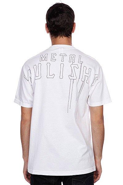 Футболка Metal Mulisha Stomp White