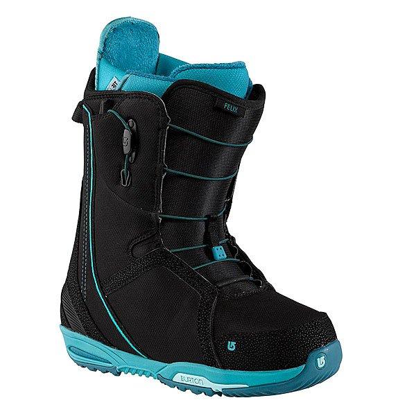 Ботинки для сноуборда женские Burton Felix Black/Teal