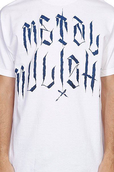 Футболка Metal Mulisha Solitary Tee White