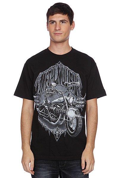 Футболка Metal Mulisha Dead Ride Black