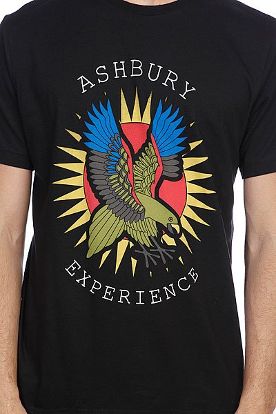Футболка Ashbury Papa Black