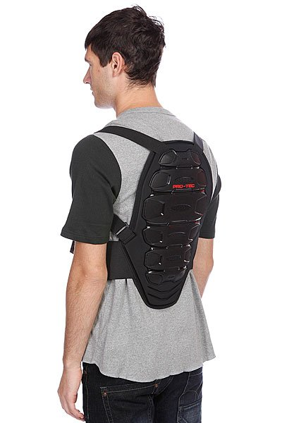 Защита на спину Pro-Tec Ips Back Pad Black/Red