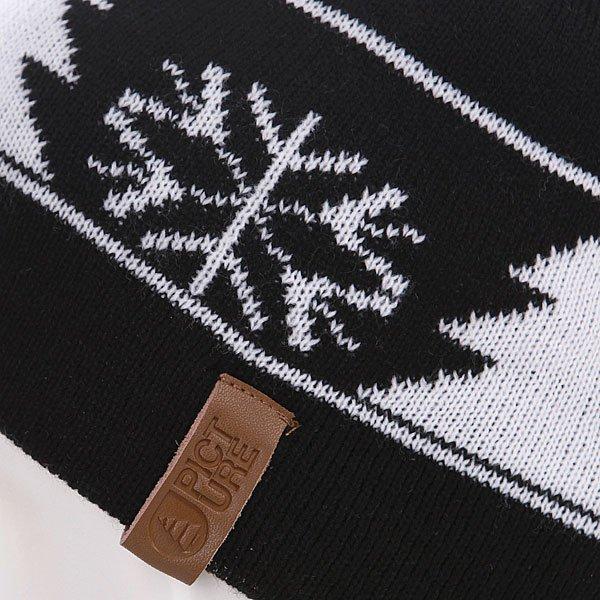 Шапка с помпоном Picture Organic December Black