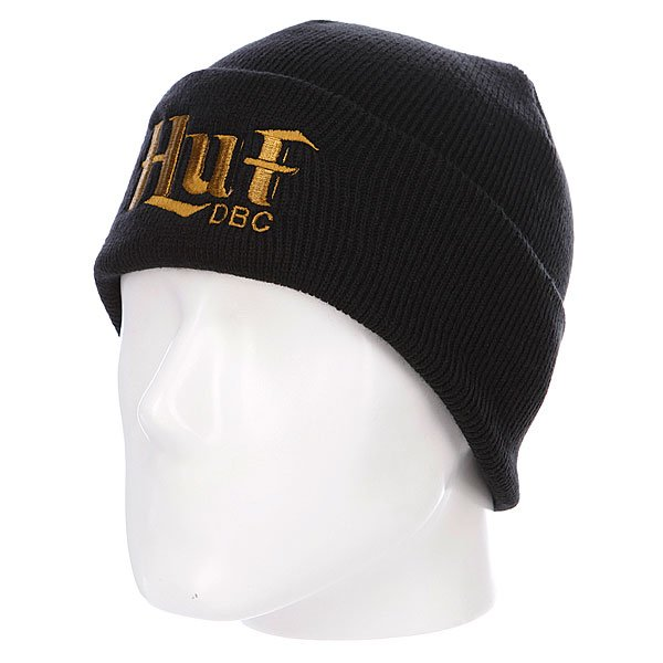 Шапка Huf Authentic Beanies Black