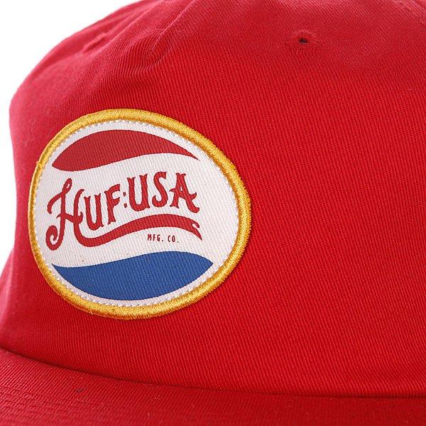 Бейсболка Huf Last Generation Red