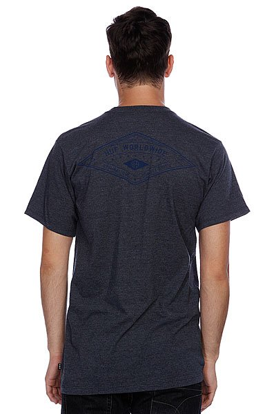 Футболка Huf Full Steam Tee Denim Heather
