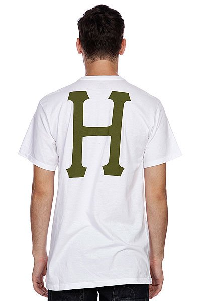 Футболка Huf Classic H Pocket Tee White