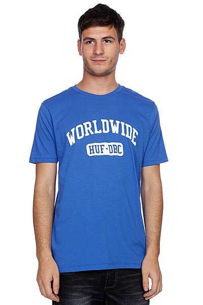 Футболка Huf Worldwide Sport Tee Royal