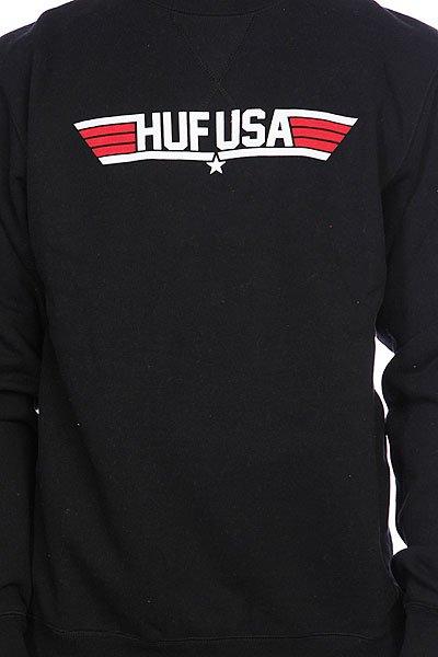 Свитшот Huf Top Huf Crew Black