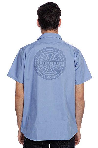 Рубашка Independent No Bs Lines Light Blue