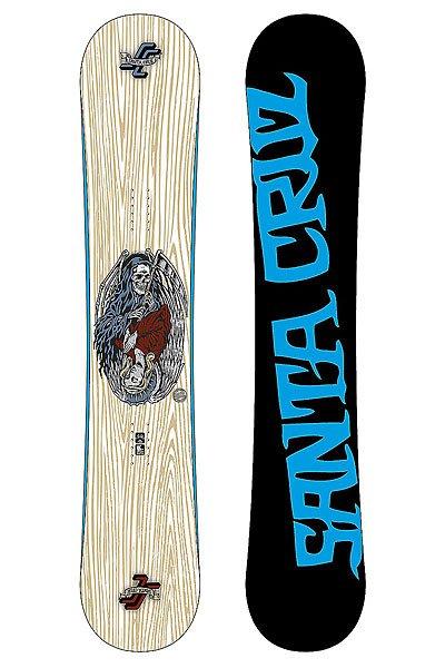 Сноуборд Santa Cruz Good Vs Evil White 155