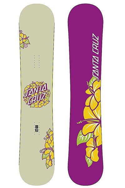 Сноуборд Женский Santa Cruz Hibiscus Purple 154