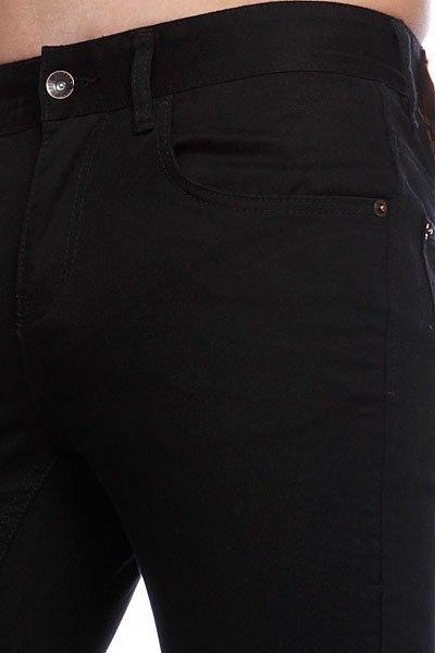 Штаны прямые Globe Goodstock Skinny Jean Black