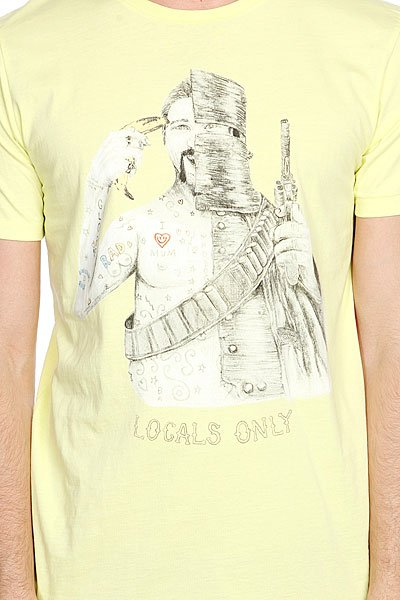 Футболка Globe Banana Tee Acid Yellow