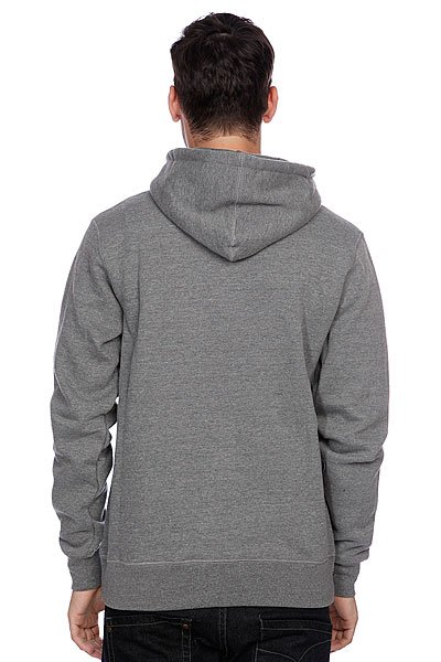 Толстовка Huf Huf Usa Dbc Zip Up Premium Hood Gray Heather