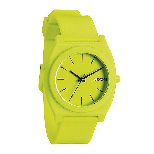 Часы Nixon Time Teller P Neon Yellow