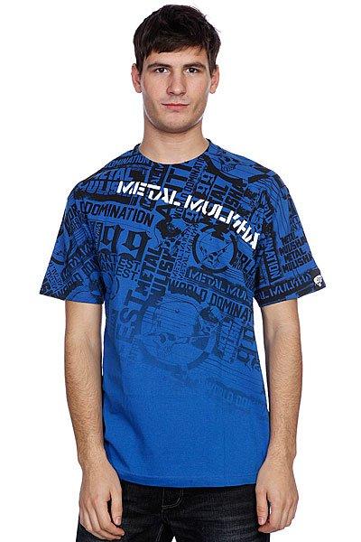 Футболка Metal Mulisha Dread Royal Blue