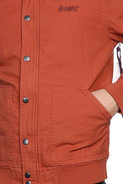 Бомбер Altamont Sweep Jacket Rust