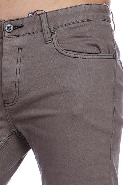 Штаны Etnies Slim Fit Denim Pant Grey
