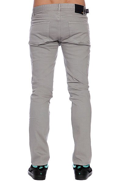 Штаны прямые Emerica Hsu Slim Denim Light Grey