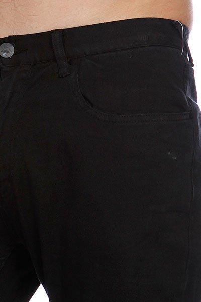 Штаны прямые Emerica Standard Issue 5Pkt Chino Black