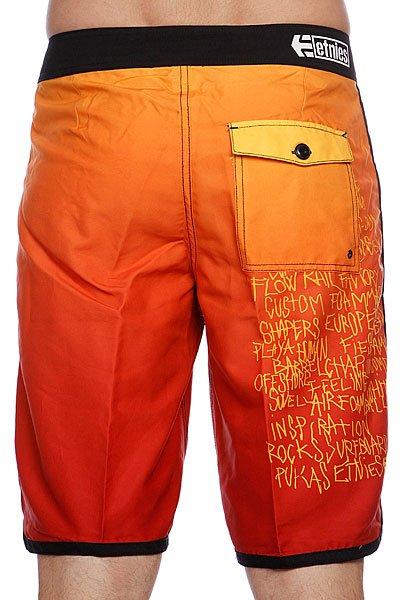 Шорты Etnies Silhouetteboardie Orange