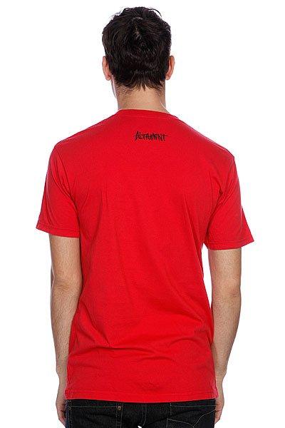 Футболка Altamont Sights S/Stee Red