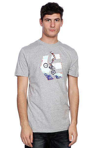 Футболка Etnies Gunz Blazin S/S Tee Grey/Heather