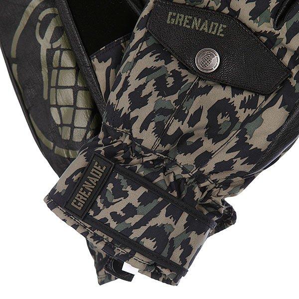 Варежки сноубордические Grenade Dk Trigger Army