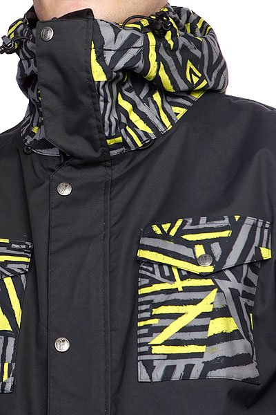 Куртка Grenade Mens Jacket Field Doom Vision/Black