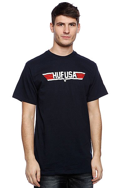 Купить Футболка Huf Top Navy 1083948
