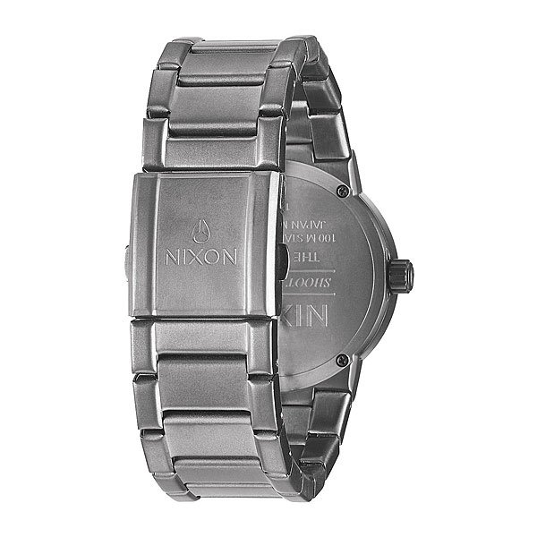 Часы Nixon Cannon Gunmetal/Blue Crystal