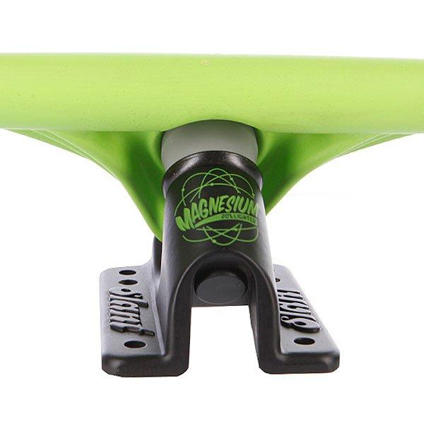 Подвеска для лонгборда 1шт. Slant Magnesium Inverted Truck Fluorescent Green/Black 150mm 8.6 (21.8 см)