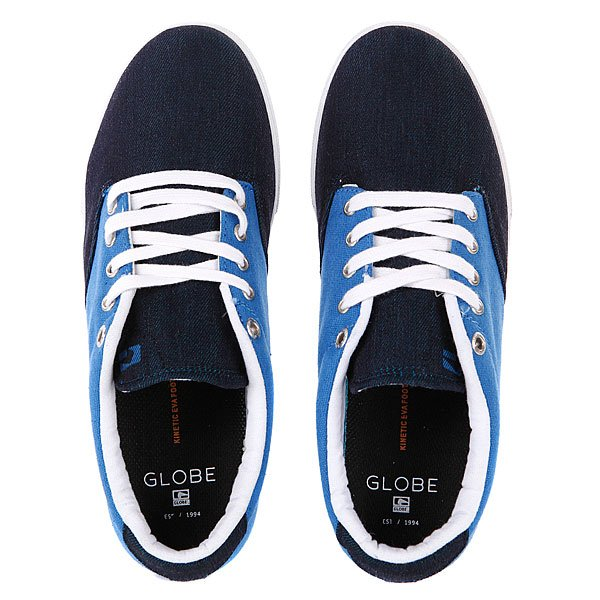Кеды низкие Globe Lighthouse Slim Blue/Denim