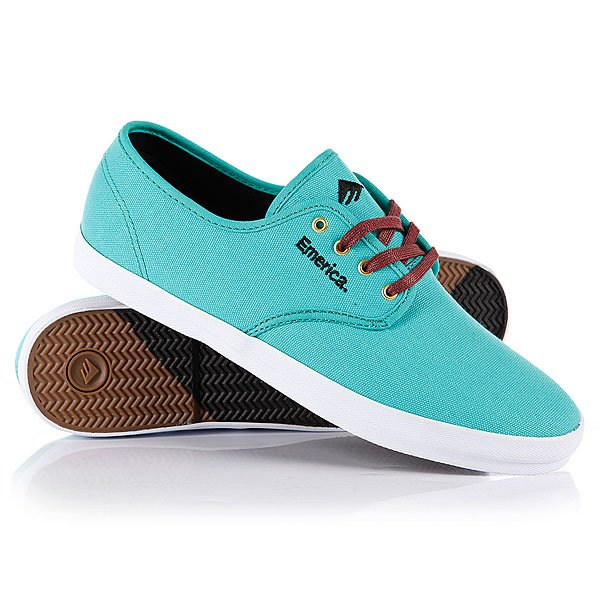 Кеды низкие Emerica The Wino Teal