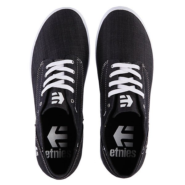 Кеды низкие Etnies Dapper Black/Grey/White