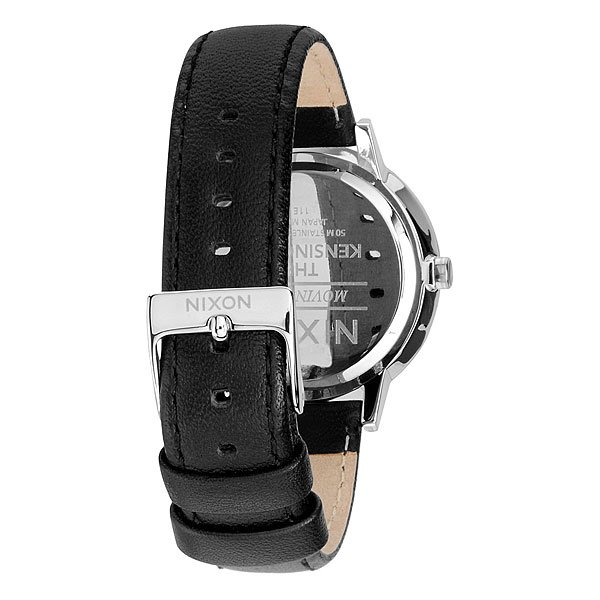 Часы женские Nixon Kensington Leather Black