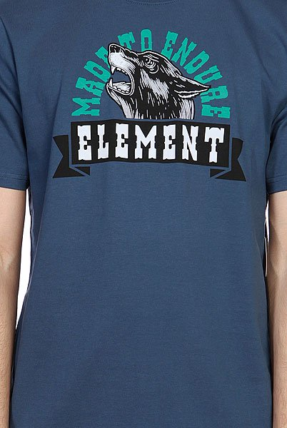 Футболка Element Howlin Ss R Dark Denim