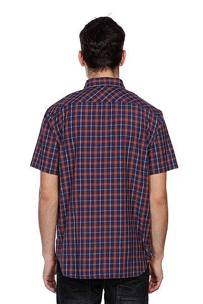 Рубашка в клетку Element Sutton Ss Dark Denim
