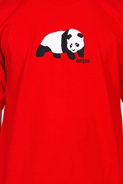 Футболка Enjoi Original Panda Red