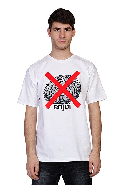 Футболка Enjoi No Brainer White