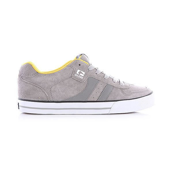 Кеды низкие Globe Encore Grey/Yellow