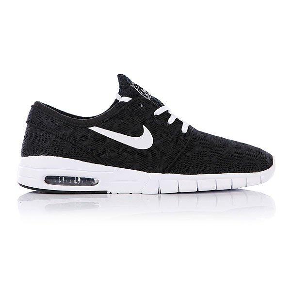 Кеды Nike Stefan Janoski Max Black/White