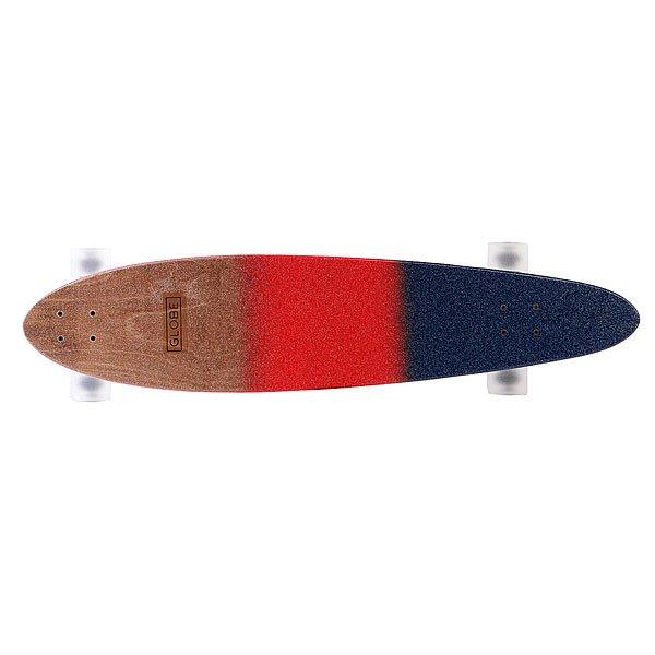 Лонгборд Globe Pinner Classic Red/Navy Spray 40 (101.6 см)