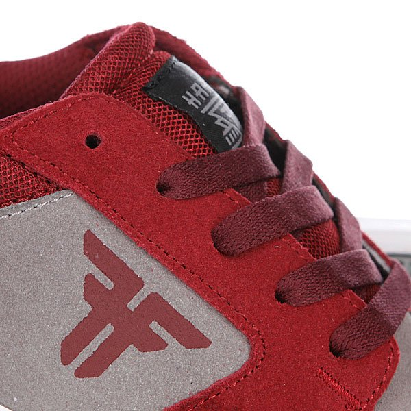Кеды низкие Fallen Torch Cement Grey/Oxblood